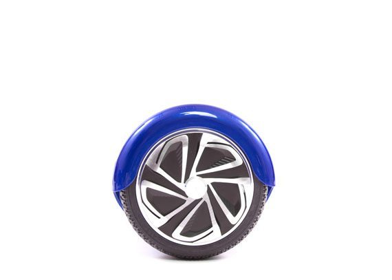 hoverboard bleu roue droite